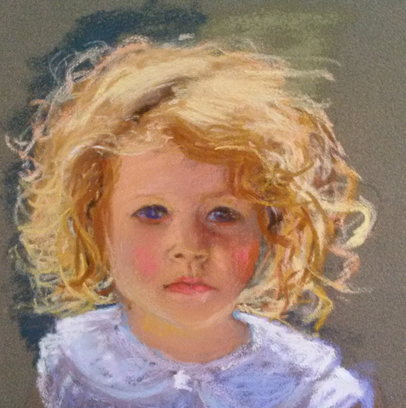 Lynn Brown, Child, pastel
