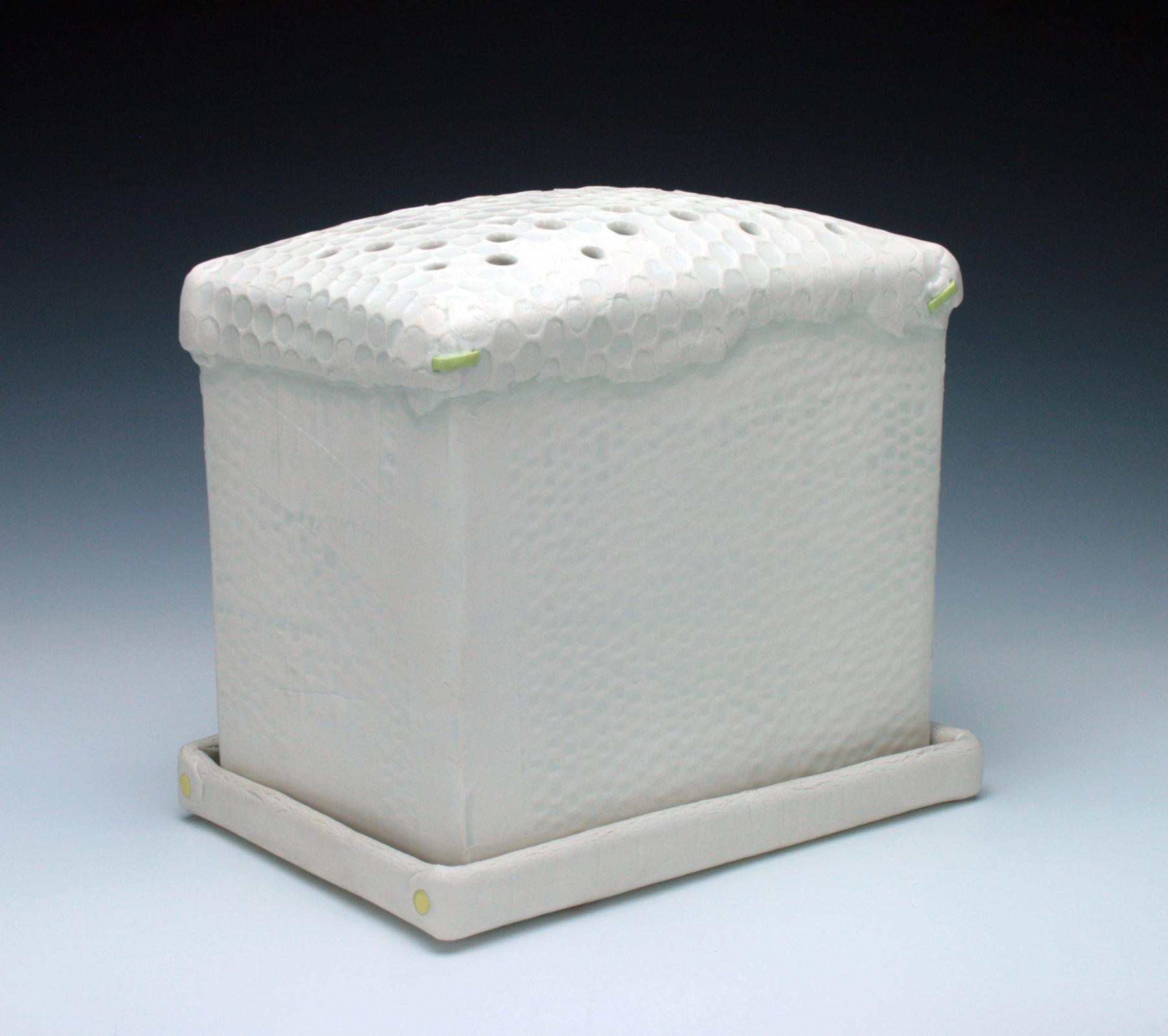 Bonilyn Parker, Flowerbox, ceramic