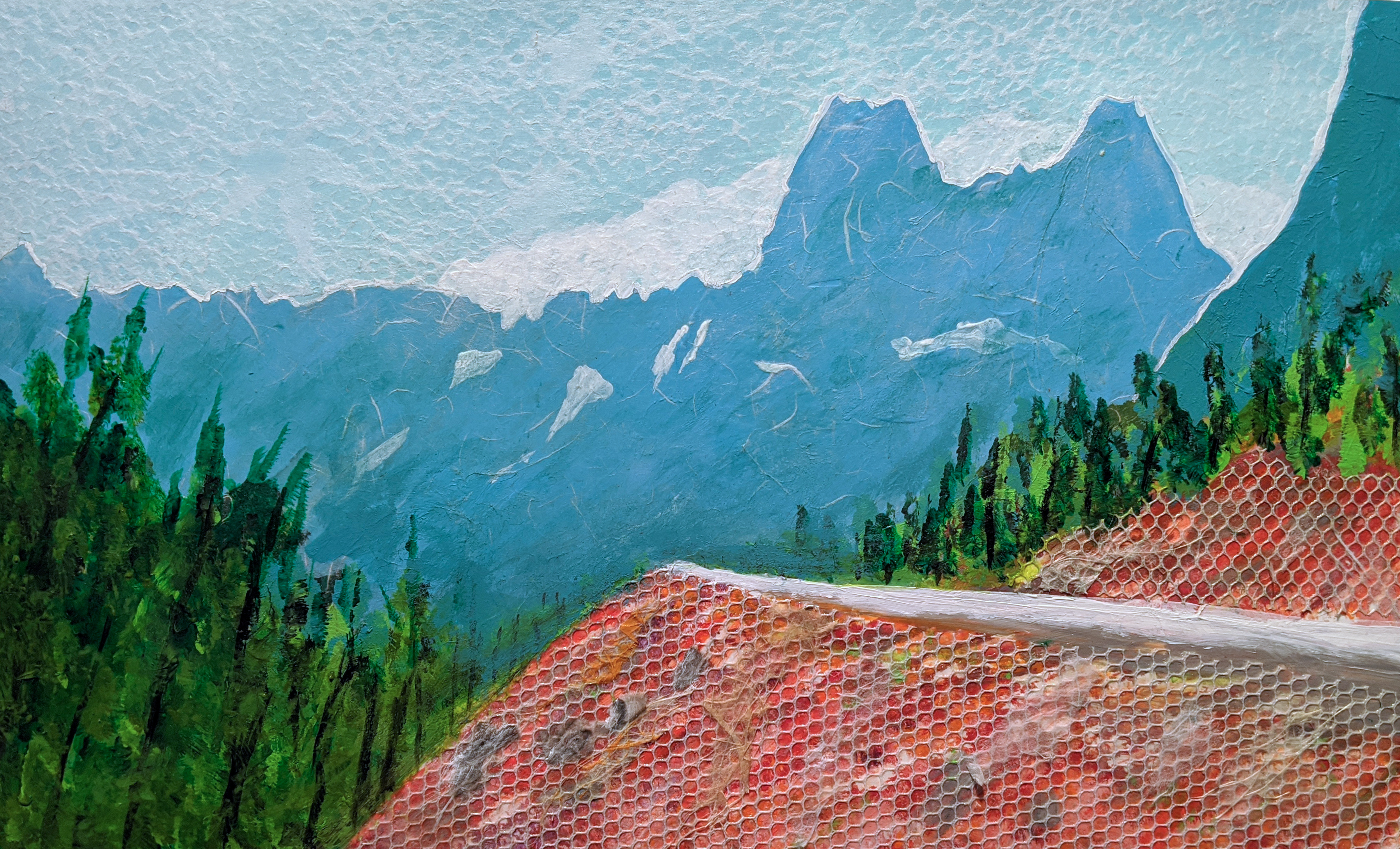 Carol Hassen, Spring Drive on the North Cascades Highway