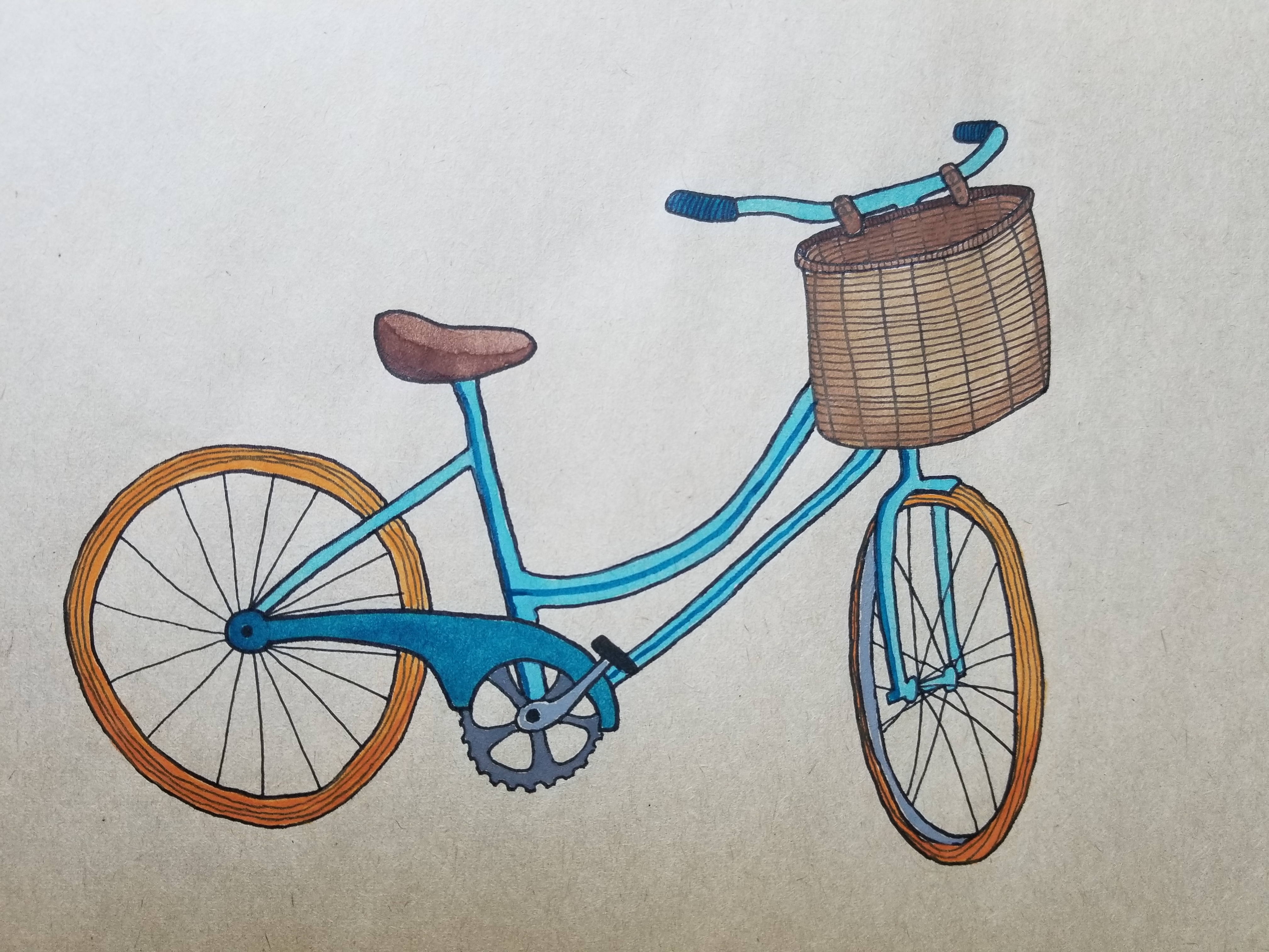 Adelaide Seemiller, Quirky Bicycle