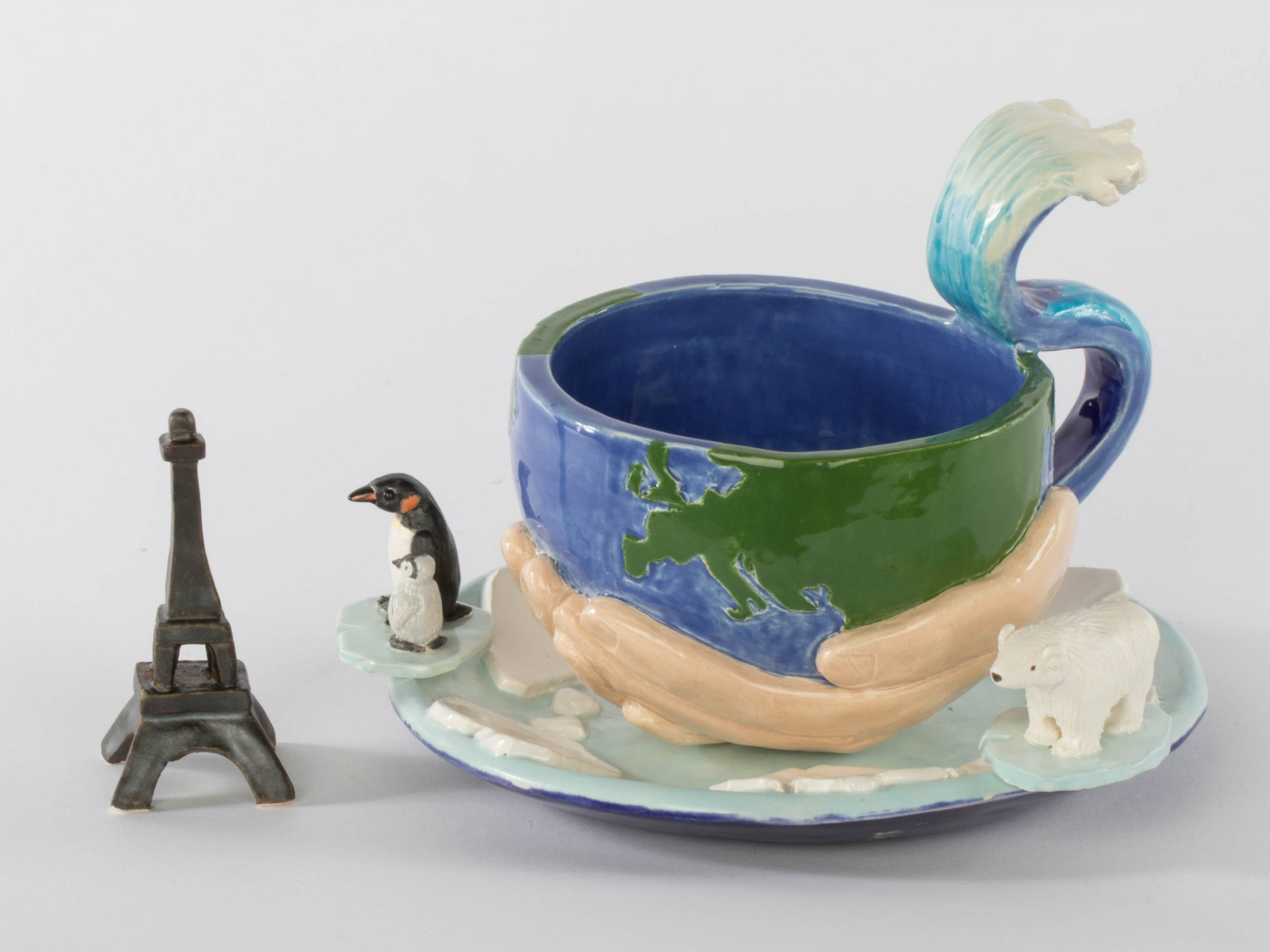 Tracey Corinne, Environmental Movement Cup (detail)